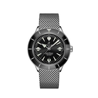 Breitling Superocean Heritage '57 Men's Mesh Bracelet Watch - Product number 3863786