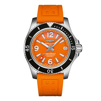 Breitling Superocean Automatic Ladies' Rubber Strap Watch - Product number 3863891