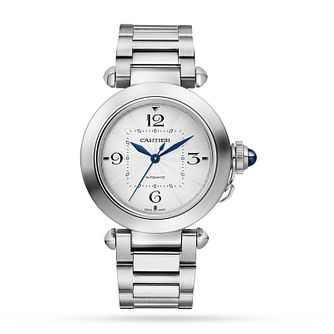 Cartier Pasha Ladies' Stainless Steel Bracelet Watch - Product number 3864197