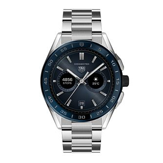 TAG Heuer Connected Stainless Steel Bracelet Watch - Product number 3865894