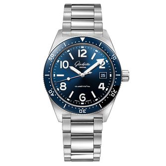 Glashutte Original SeaQ Men's Stainless Steel Bracelet Watch - Product number 3866122