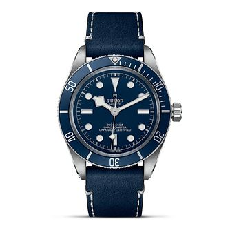 Tudor Black Bay Fifty-Eight Navy Blue Soft Touch Strap Watch - Product number 3867455