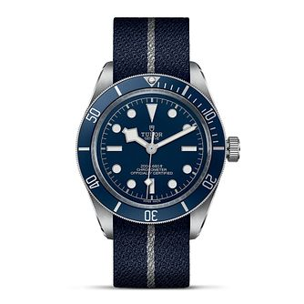 Tudor Black Bay Fifty-Eight Navy Blue Fabric Strap Watch - Product number 3867498