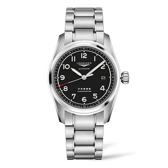 Longines Spirit 40 Men's Stainless Steel Bracelet Watch - Product number 3867501