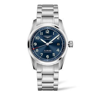 Longines Spirit 40 Men's Stainless Steel Bracelet Watch - Product number 3867528