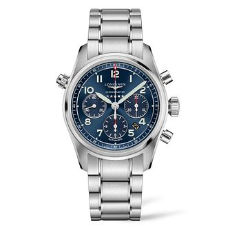 Longines Spirit Chrono Men's Stainless Steel Bracelet Watch - Product number 3867552