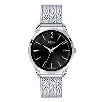 Henry London Men's Edgware Mesh Bracelet Watch - Product number 3870081