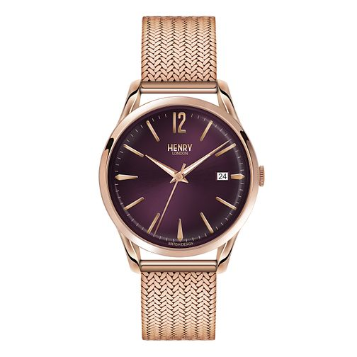 Henry London Ladies' Hampstead Rose Gold-Plated Watch - Product number 3871320