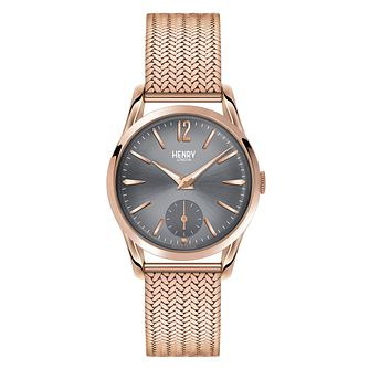 Henry London Ladies' Finchley Rose Gold-Plated Watch - Product number 3871584
