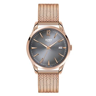 Henry London Ladies' F inchesley Rose Gold-Plated Watch - Product number 3871614