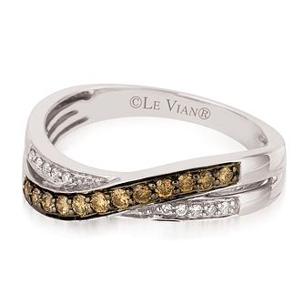 Le Vian 14ct Vanilla Gold Chocolate Diamond Ring - Product number 3877612