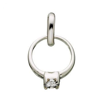 Links Of London Sterling Silver Rock Qxdiamond' Ring Charm - Product number 3885119