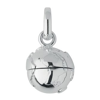 Links of London Silver Globe Travelling Locket Charm - Product number 3885216