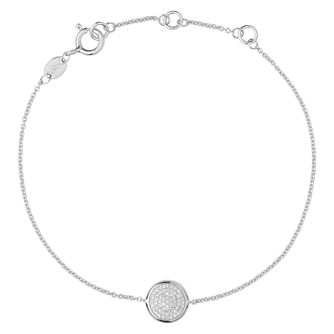 Links Of London Sterling Silver Diamond Bracelet - Product number 3885321