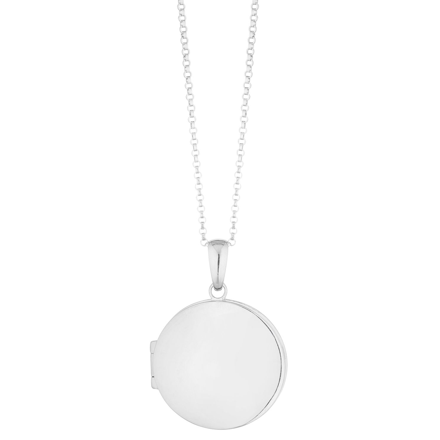 Silver Locket Pendant - Product number 3886956
