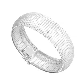 Sterling Silver Structured Cuff Bracelet - Product number 3887618