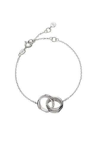 Links of London 20/20 Sterling Silver Interlocking Bracelet - Product number 3887936