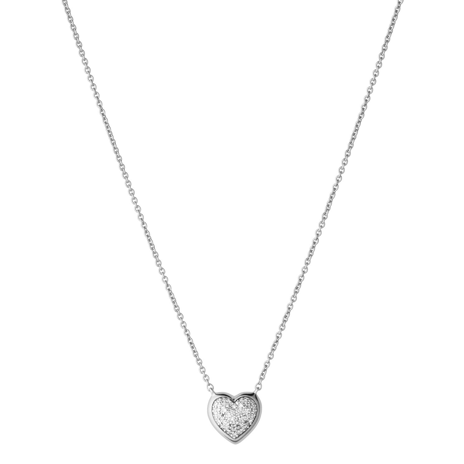Links Of London Diamond Essentials Silver Heart Pendant - Product number 3888010