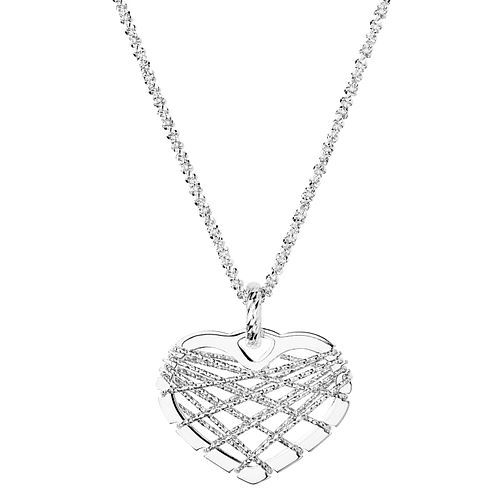 Links of London Dreamcatcher Sterling Silver Heart Pendant - Product number 3888215