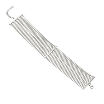Sterling Silver Multi Strand Bar Bracelet - Product number 3888312