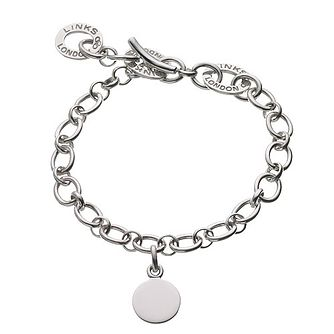 Links of London Sterling Silver Baby Disc Charm Bracelet - Product number 3888363