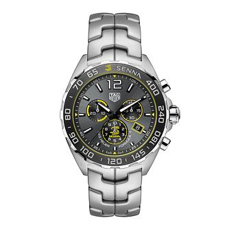 TAG Heuer Formula 1 Senna Stainless Steel Bracelet Watch - Product number 3888797