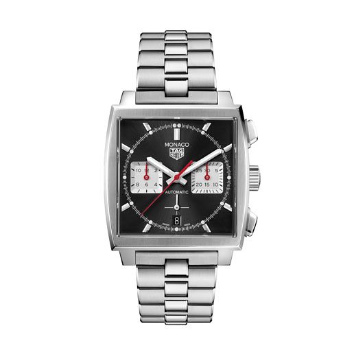 TAG Heuer Monaco Men's Stainless Steel Bracelet Watch - Product number 3888835