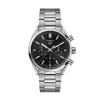 TAG Heuer Carrera Chronograph Stainless Steel Bracelet Watch - Product number 3888959
