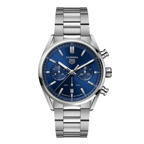TAG Heuer Carrera Chronograph Stainless Steel Bracelet Watch - Product number 3888991