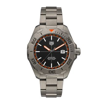 TAG Heuer Aquaracer Bamford Edition Titanium Bracelet Watch - Product number 3889149