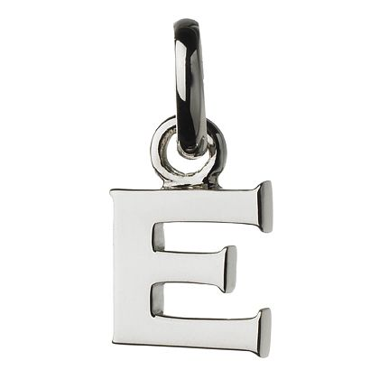 Links of London Sterling Silver Alphabet E Charm - Product number 3890007