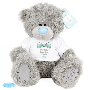 Personalised Me To You Page Boy Bear with T-Shirt - Product number 3891089
