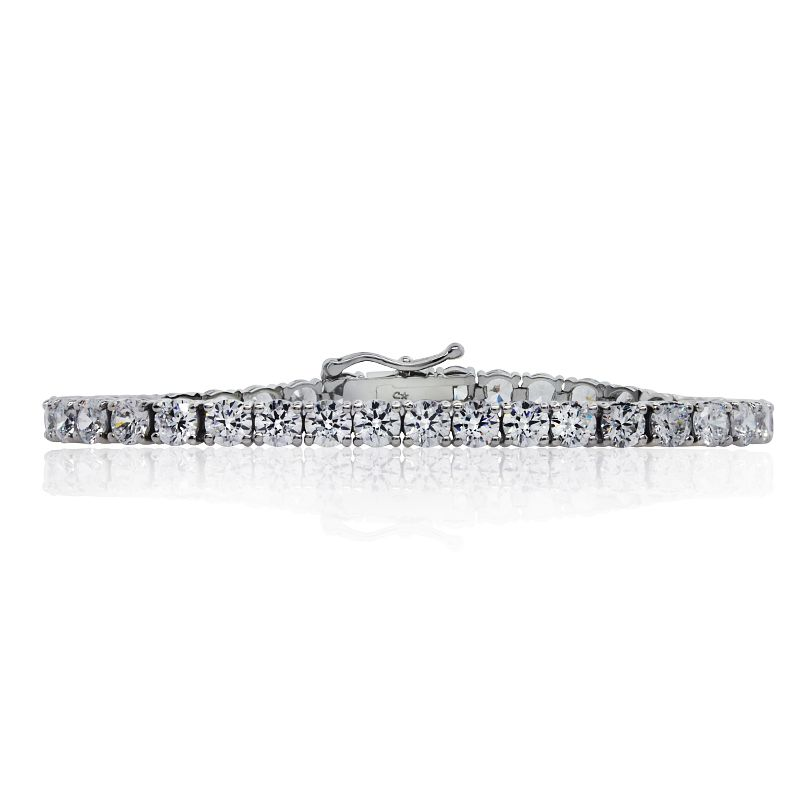 CARAT* LONDON Sterling Silver Brilliant Round Bracelet - Product number 3905667