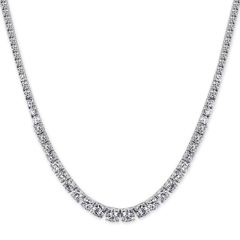 CARAT* LONDON Sterling Silver Brilliant Round Necklace - Product number 3905675