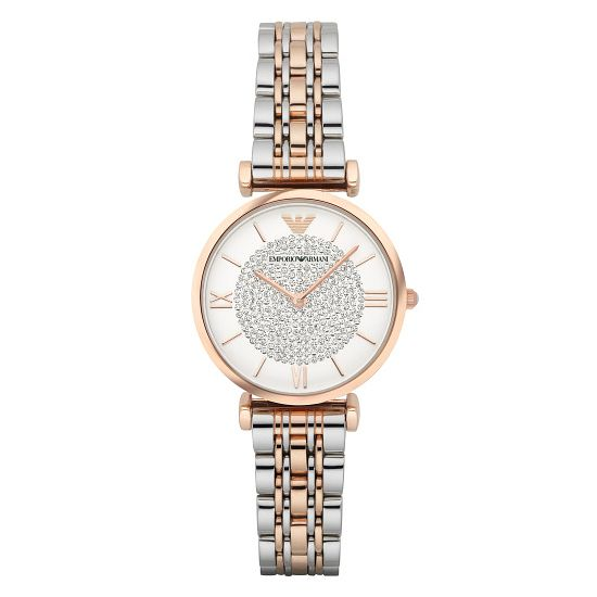 Emporio Armani Ladies' Two Colour Bracelet Watch - Product number 3907988