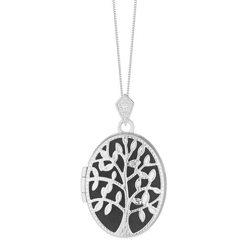 Tree of Life Design Silver Disc Pendant - Product number 3909808
