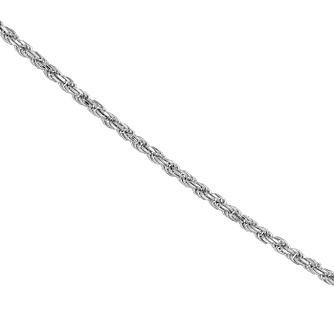 "Silver 26"" Adjustable Rope Chain - Product number 3912361"