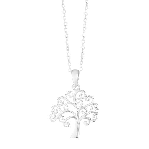 Tree of Life Design Silver Filigree Pendant - Product number 3912388