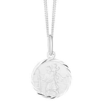Silver 15mm St Christopher Pendant - Product number 3913538