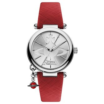 Vivienne Westwood Orb Silver Dial Strap Watch - Product number 3916375