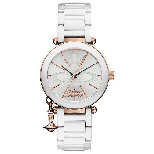 Vivienne Westwood White Ceramic Bracelet Watch - Product number 3916391