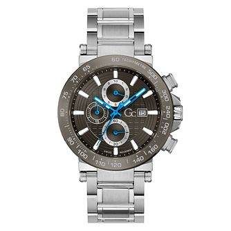 Gc Urbancode Men's Grey Dial Chronograph Bracelet Watch - Product number 3924912