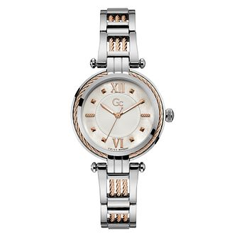 Gc Cable Bijou Ladies' Two Tone Bracelet Watch - Product number 3924920