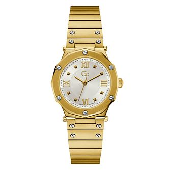 Gc Spirit Ladies' Gold Tone Stainless Steel Bracelet Watch - Product number 3925501