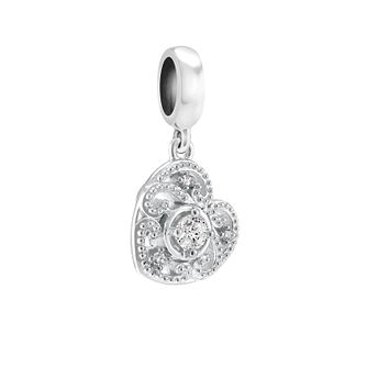 Chamilia Swirling Hanging Heart Charm - Product number 3932052