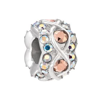 Chamilia Rose Gold And Aurora Borealis Luxe Charm - Product number 3932168