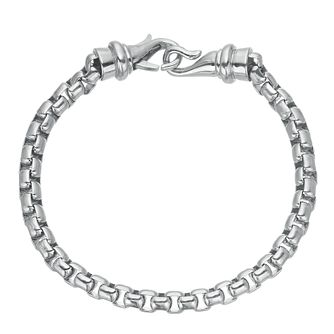 Men's Stainless Steel Belcher Bracelet - Product number 3939332