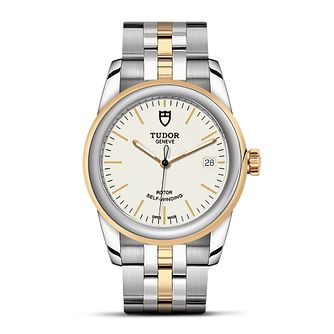 Tudor Glamour Date Diamond Ladies' Two Tone Bracelet Watch - Product number 3940128