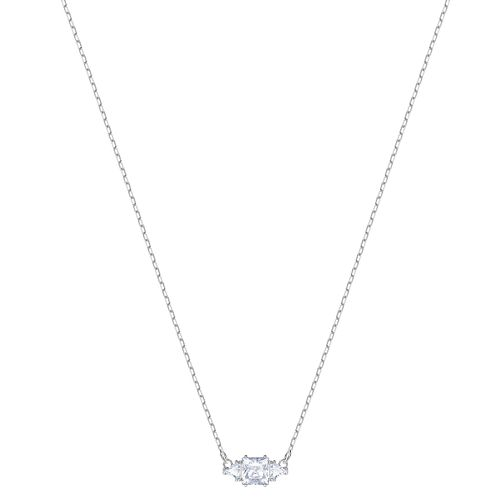 Swarovski Ladies' Rhodium Plated Attract Trio Necklace - Product number 3941884