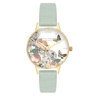 Olivia Burton Signature Yellow Gold Metal Plated Watch - Product number 3945197